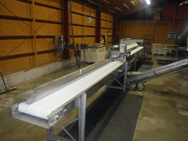 New asparagus packing line and cooler on-line